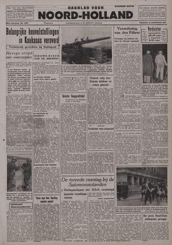 Dagblad Noord-Holland, Schager editie 1942-08-28