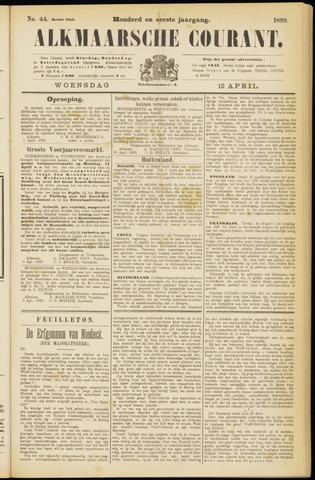 Alkmaarsche Courant 1899-04-12