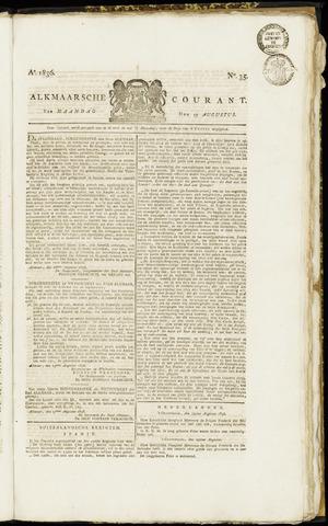 Alkmaarsche Courant 1836-08-29