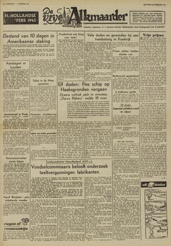 De Vrije Alkmaarder 1950-02-13