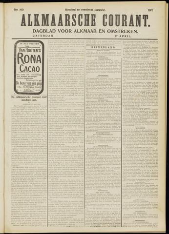 Alkmaarsche Courant 1912-04-27