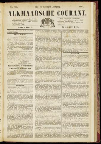 Alkmaarsche Courant 1881-08-31