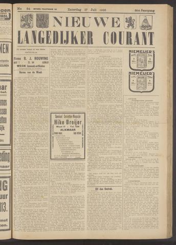 Nieuwe Langedijker Courant 1926-07-17