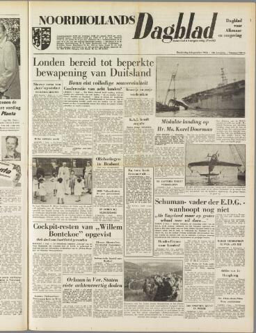 Noordhollands Dagblad : dagblad voor Alkmaar en omgeving 1954-09-02