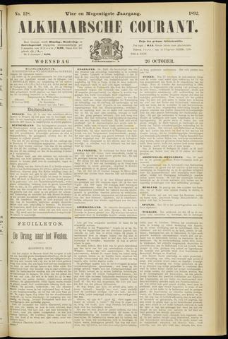 Alkmaarsche Courant 1892-10-26