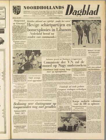Noordhollands Dagblad : dagblad voor Alkmaar en omgeving 1958-06-19