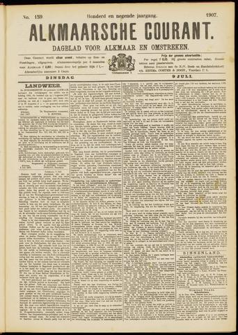 Alkmaarsche Courant 1907-07-09