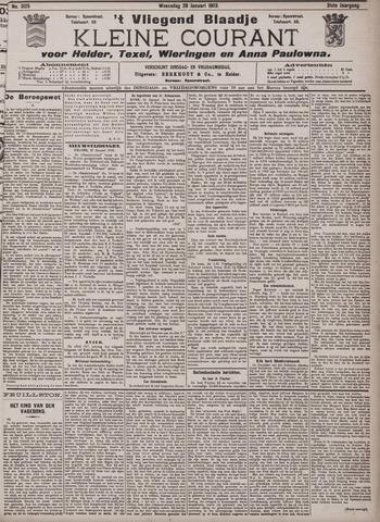 Vliegend blaadje : nieuws- en advertentiebode voor Den Helder 1903-01-28