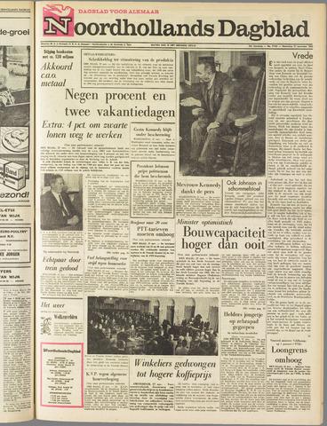 Noordhollands Dagblad : dagblad voor Alkmaar en omgeving 1963-11-27