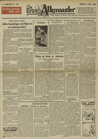De Vrije Alkmaarder 1948-11-02