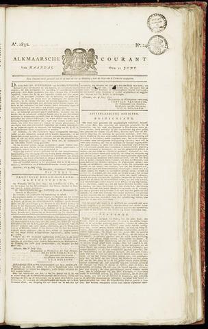 Alkmaarsche Courant 1832-06-11