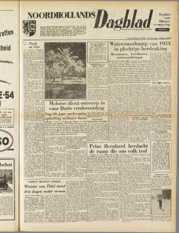 Noordhollands Dagblad : dagblad voor Alkmaar en omgeving 1954-02-02