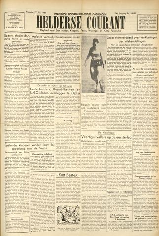 Heldersche Courant 1949-07-27