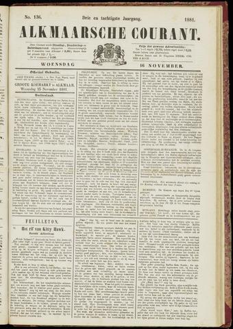 Alkmaarsche Courant 1881-11-16