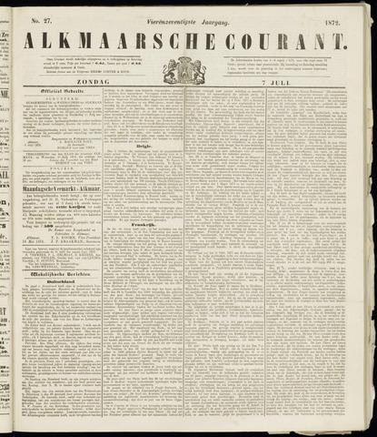 Alkmaarsche Courant 1872-07-07