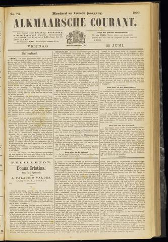 Alkmaarsche Courant 1900-06-22