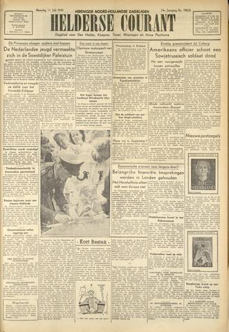 Heldersche Courant 1949-07-11