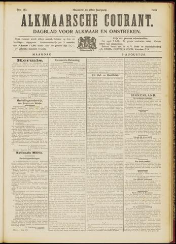 Alkmaarsche Courant 1909-08-09