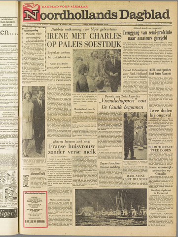 Noordhollands Dagblad : dagblad voor Alkmaar en omgeving 1964-09-21