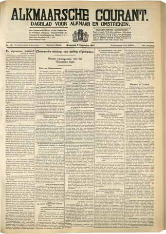 Alkmaarsche Courant 1937-08-09