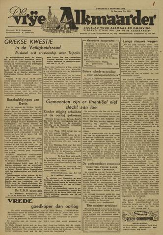 De Vrije Alkmaarder 1946-02-02