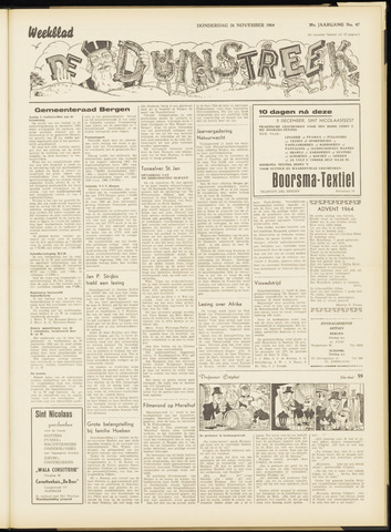 De Duinstreek 1964-11-26