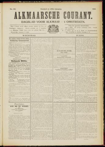 Alkmaarsche Courant 1909-06-23