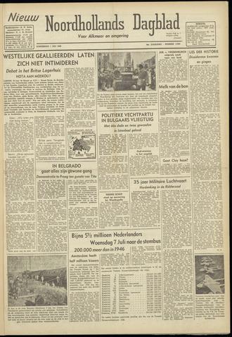 Nieuw Noordhollandsch Dagblad : voor Alkmaar en omgeving 1948-07-01