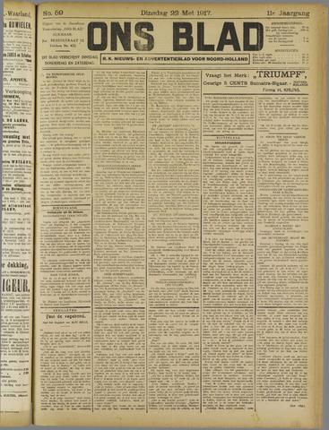 Ons Blad : katholiek nieuwsblad voor N-H 1917-05-22
