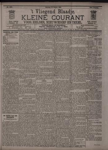 Vliegend blaadje : nieuws- en advertentiebode voor Den Helder 1894-10-20