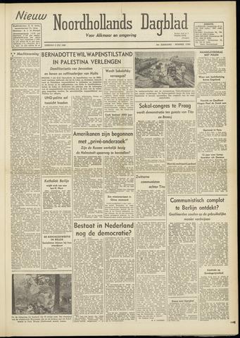 Nieuw Noordhollandsch Dagblad : voor Alkmaar en omgeving 1948-07-06