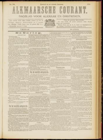 Alkmaarsche Courant 1915-04-30