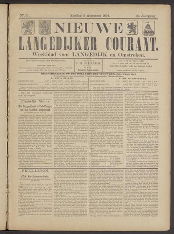 Nieuwe Langedijker Courant 1894-08-05
