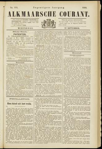 Alkmaarsche Courant 1888-09-12