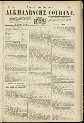 Alkmaarsche Courant 1888-09-05