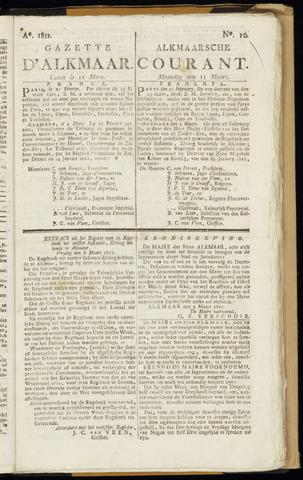 Alkmaarsche Courant 1811-03-11