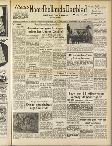 Nieuw Noordhollandsch Dagblad : voor Alkmaar en omgeving 1952-05-16