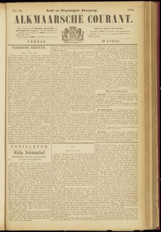 Alkmaarsche Courant 1896-04-10