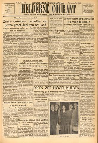 Heldersche Courant 1952-07-04