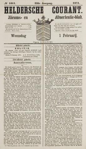 Heldersche Courant 1871-02-01