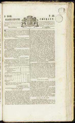 Alkmaarsche Courant 1841-08-09