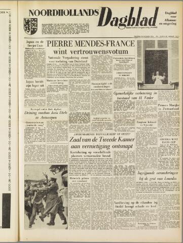 Noordhollands Dagblad : dagblad voor Alkmaar en omgeving 1954-12-28
