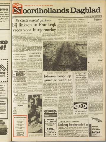 Noordhollands Dagblad : dagblad voor Alkmaar en omgeving 1968-05-31