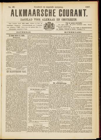 Alkmaarsche Courant 1907-02-23