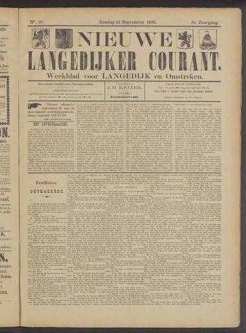 Nieuwe Langedijker Courant 1896-09-13