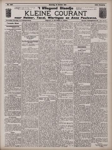Vliegend blaadje : nieuws- en advertentiebode voor Den Helder 1913-10-25
