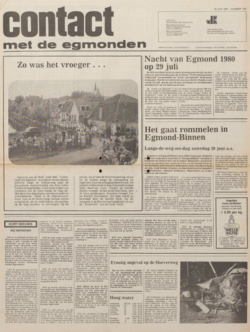 Contact met de Egmonden 1980-06-25