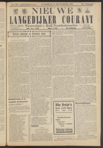Nieuwe Langedijker Courant 1930-09-13