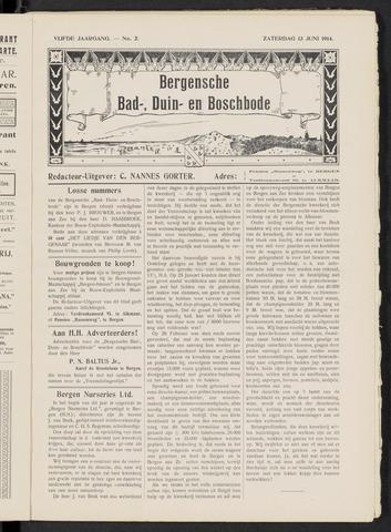 Bergensche bad-, duin- en boschbode 1914-06-13