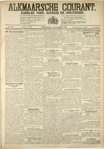 Alkmaarsche Courant 1930-10-22